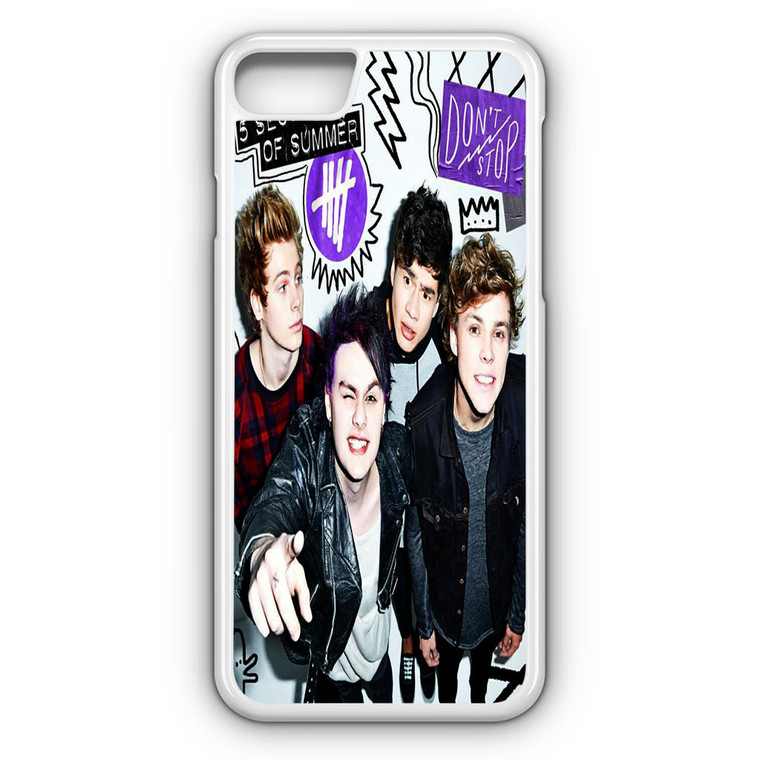 5SOS Poster Don't Stop iPhone 8 Case