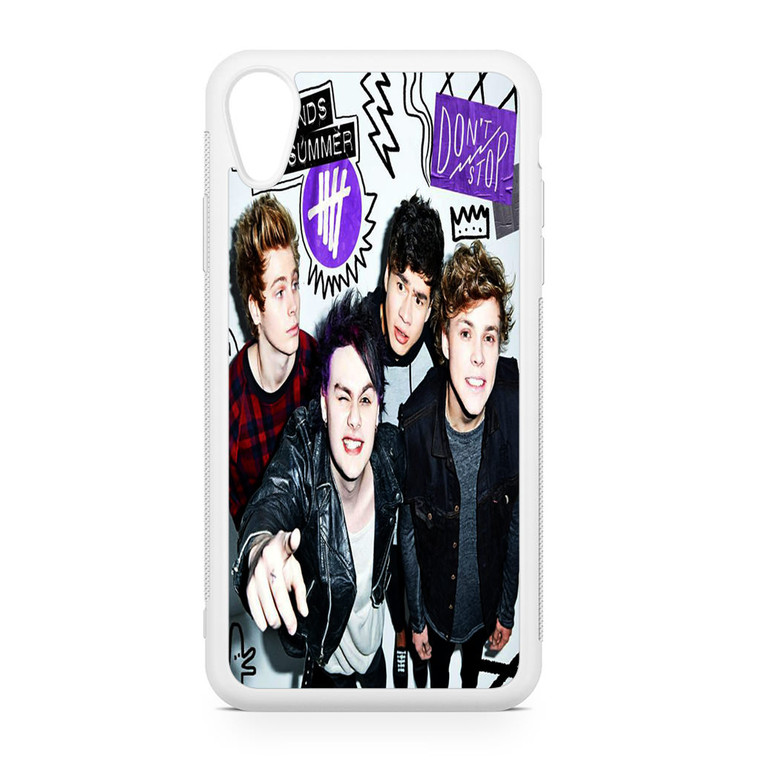 5SOS Poster Don't Stop iPhone XR Case