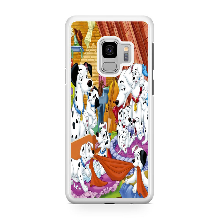 101 Dalmations Family Samsung Galaxy S9 Case