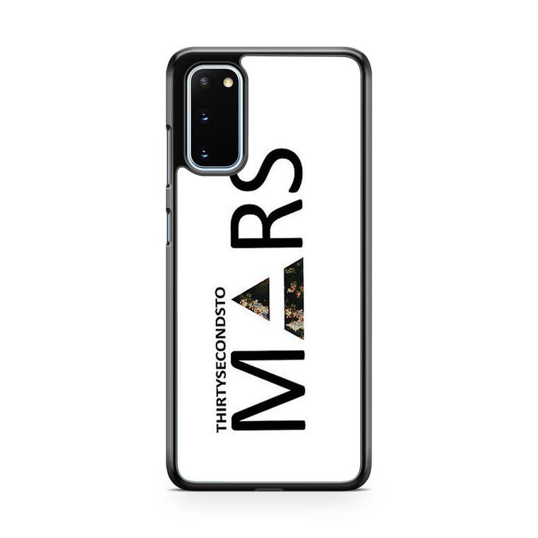 30 Second to Mars Logo Samsung Galaxy S20 Case