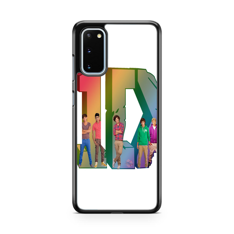1D Logo Colourfull Samsung Galaxy S20 Case