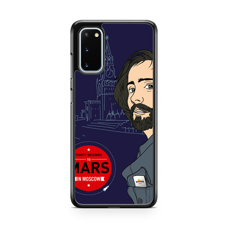 30 Seconds To Mars In Moscow Samsung Galaxy S20 Case