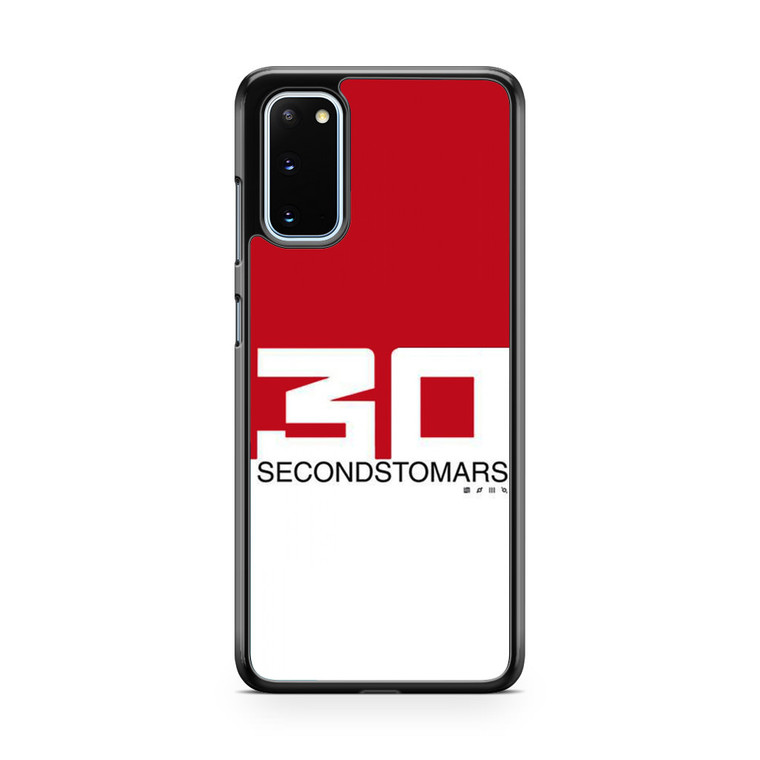 30 Seconds To Mars Red White Samsung Galaxy S20 Case