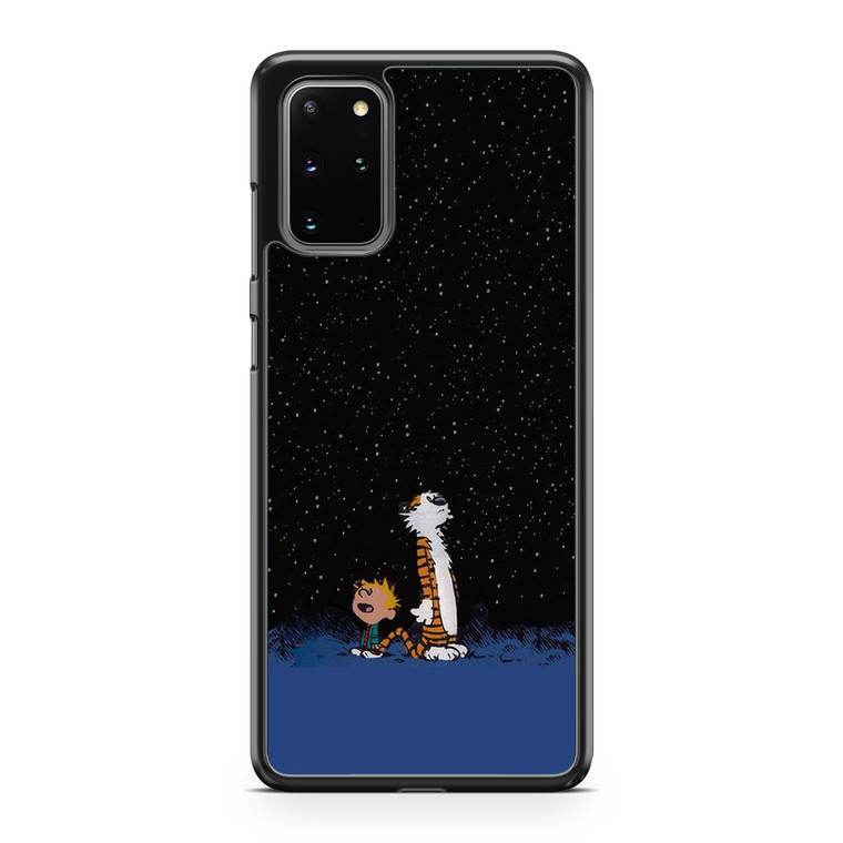 Calvin and Hobbes Space Samsung Galaxy S20 Plus Case