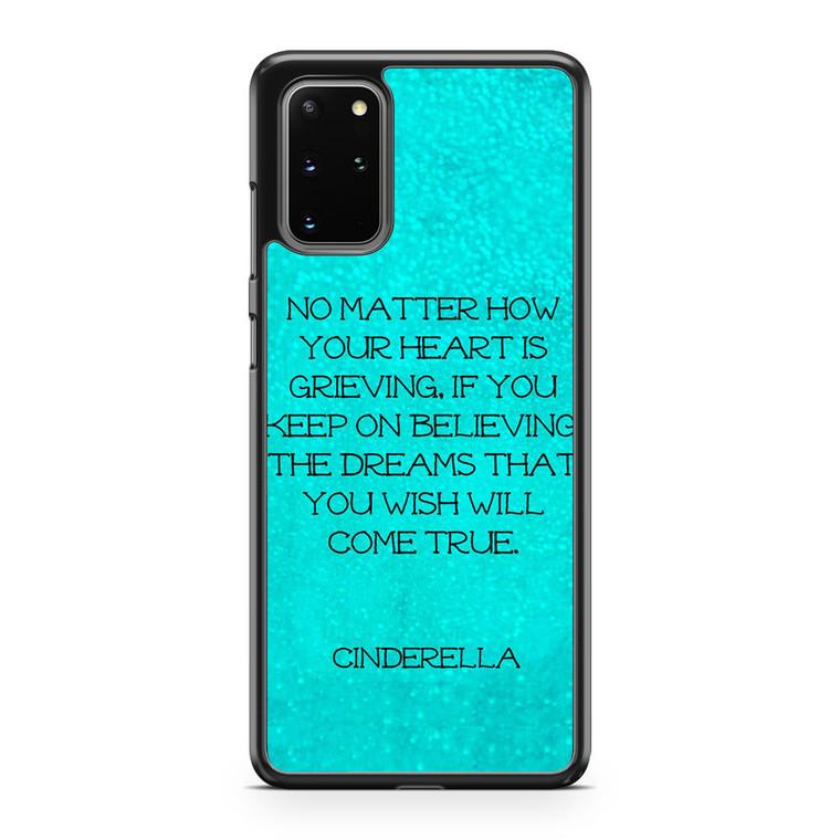 Cinderella Quotes Samsung Galaxy S20 Plus Case