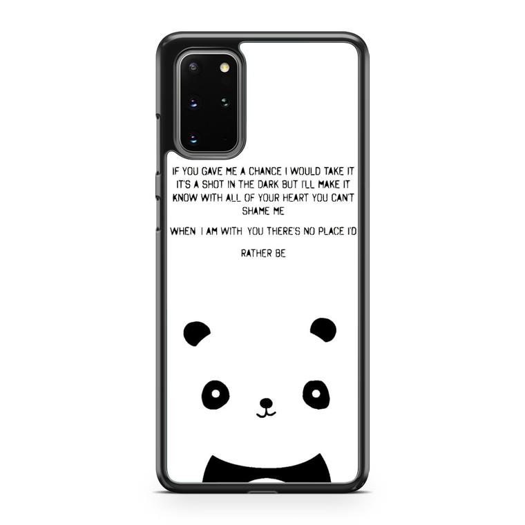 Clean Bandit Rather Be Lyrics Samsung Galaxy S20 Plus Case