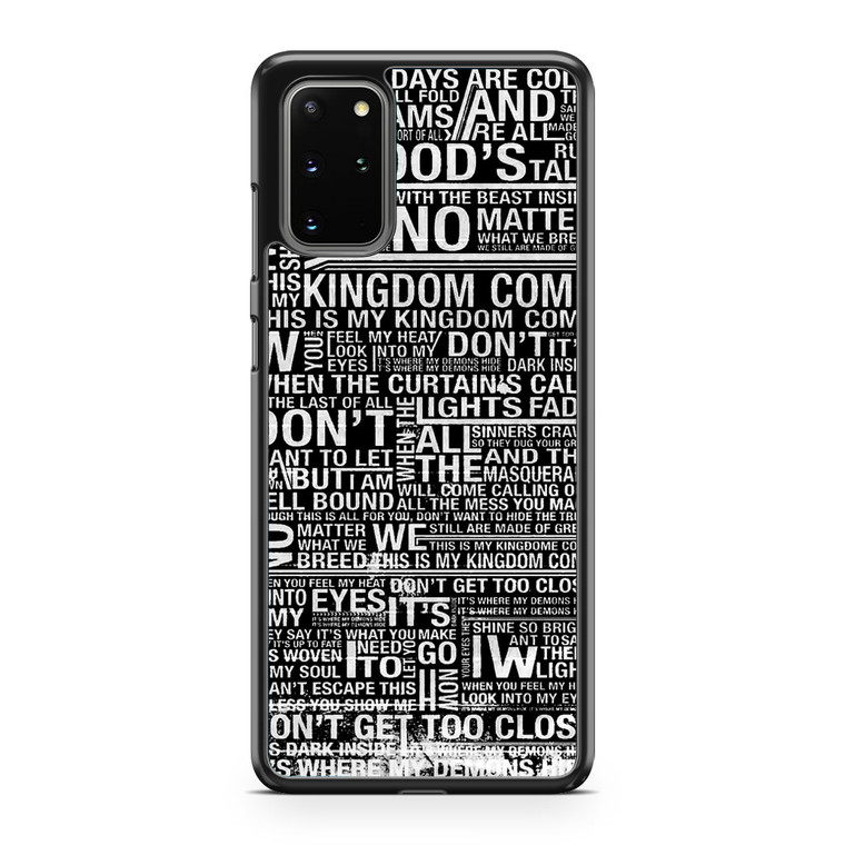 Demons Imagine Dragons Samsung Galaxy S20 Plus Case