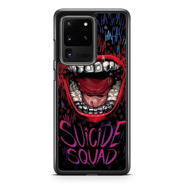 Suicide Squad Joker Laugh Samsung Galaxy S20 Ultra Case