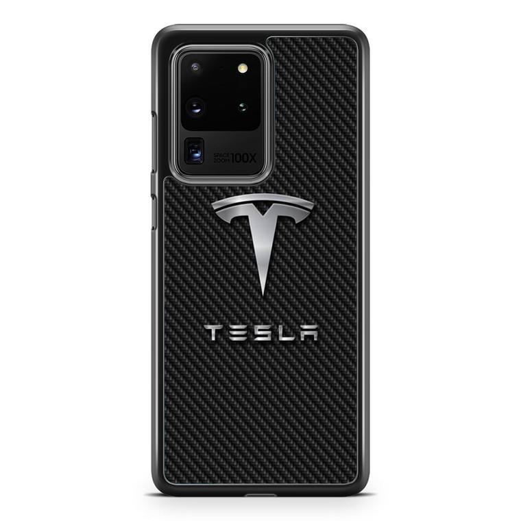 Tesla Crop Samsung Galaxy S20 Ultra Case