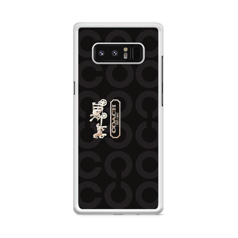 Coach Bag Samsung Galaxy Note 8 Case
