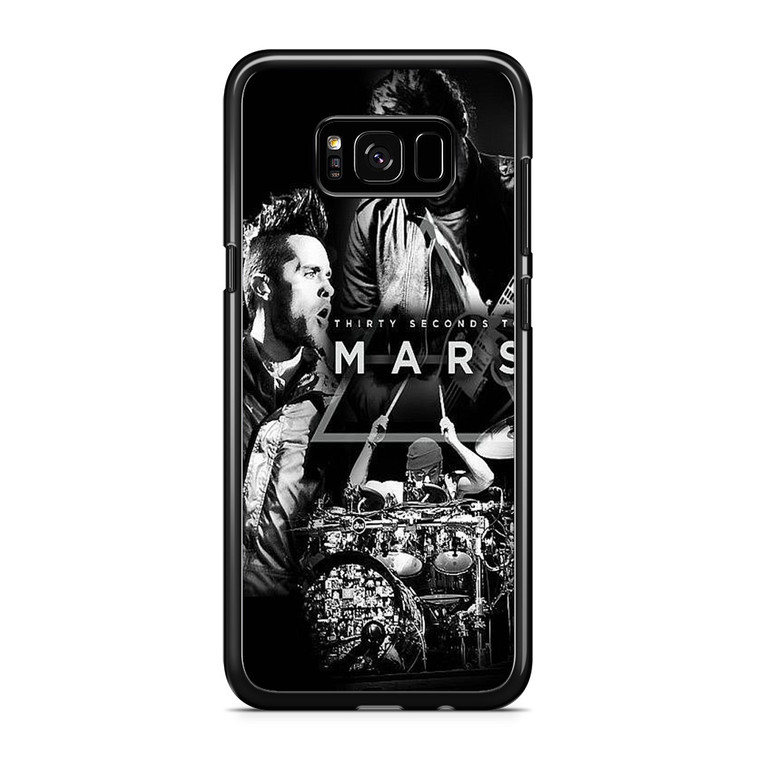 30 Second to Mars Live in Concert Samsung Galaxy S8 Plus Case
