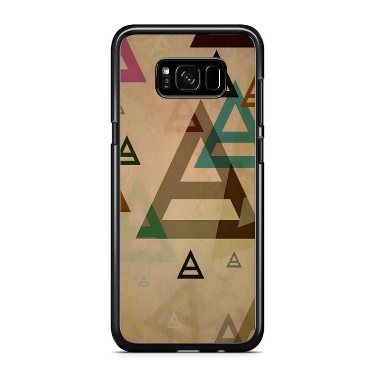 30 Second to Mars Pattern Samsung Galaxy S8 Plus Case