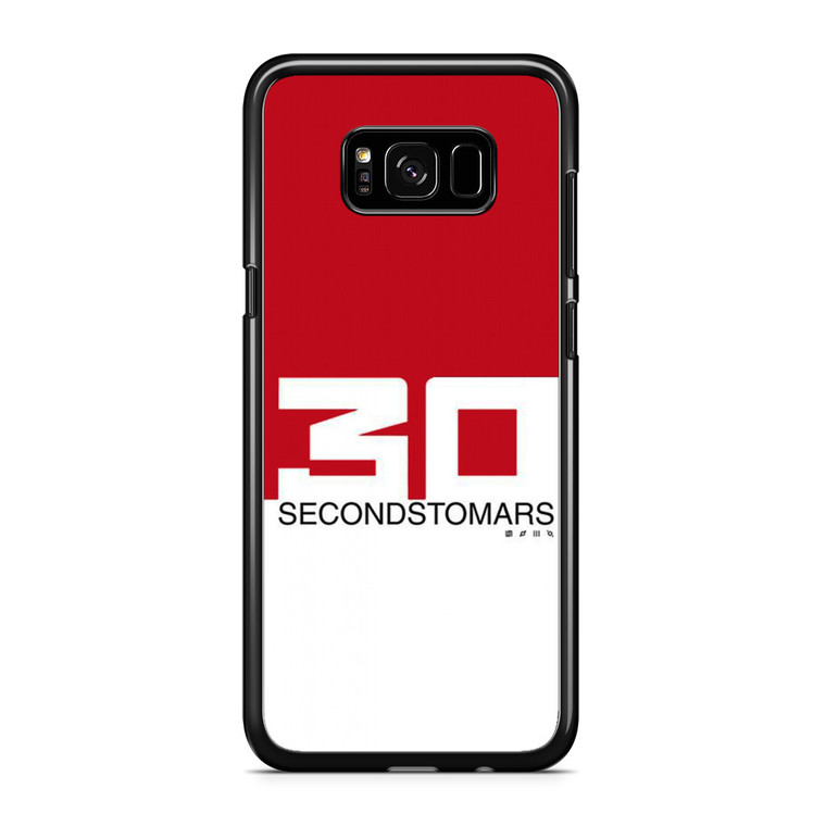 30 Seconds To Mars Red White Samsung Galaxy S8 Plus Case