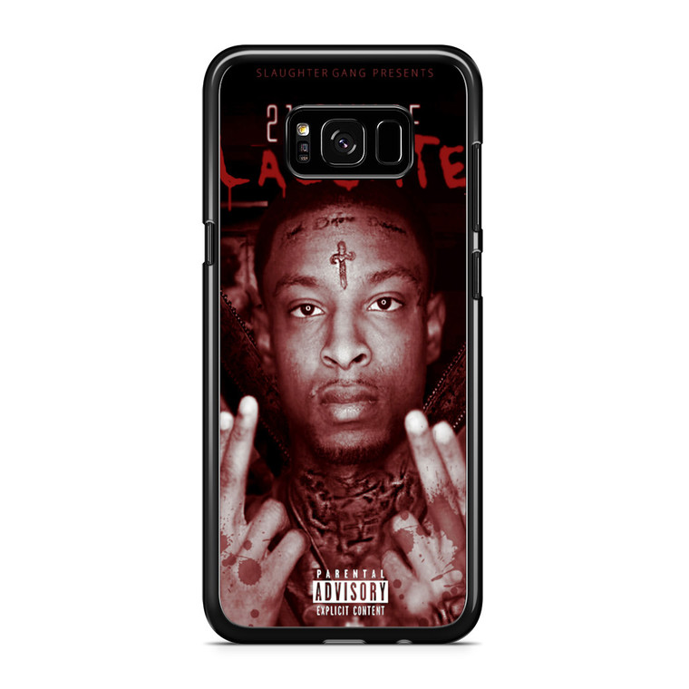 21 Savage the Slaughter Tape Samsung Galaxy S8 Plus Case