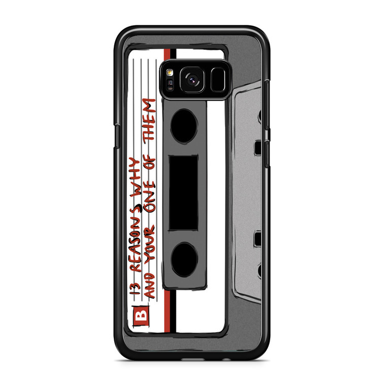 13 Reasons Why Casette Samsung Galaxy S8 Plus Case