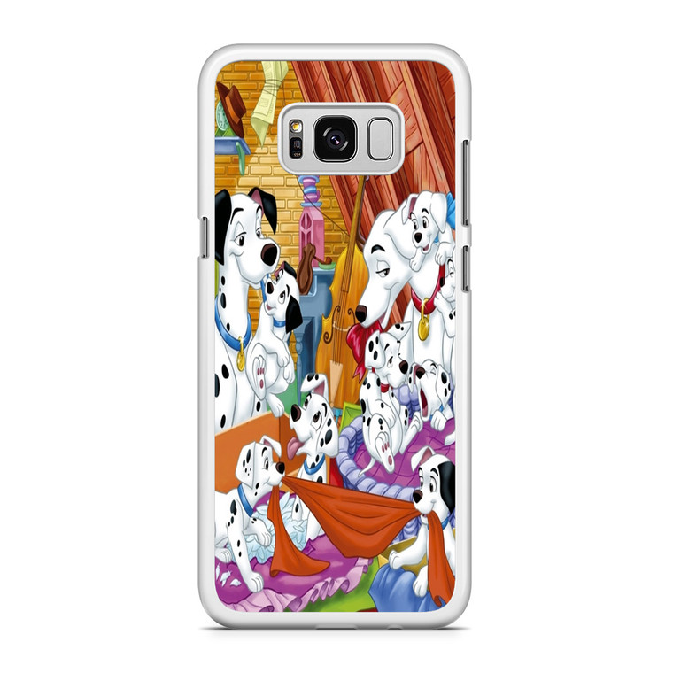 101 Dalmations Family Samsung Galaxy S8 Case