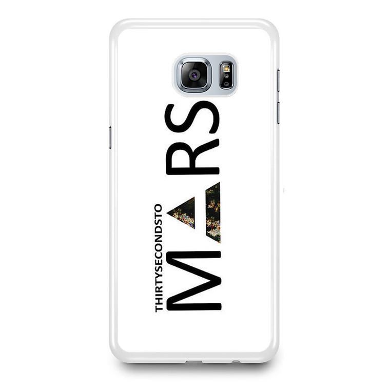 30 Second to Mars Logo Samsung Galaxy S6 Edge Plus Case