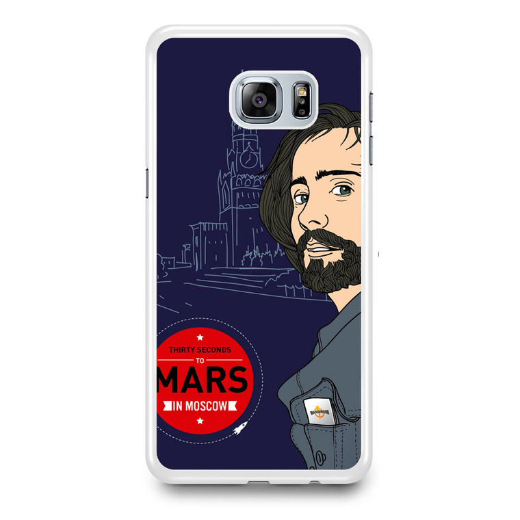 30 Seconds To Mars In Moscow Samsung Galaxy S6 Edge Plus Case