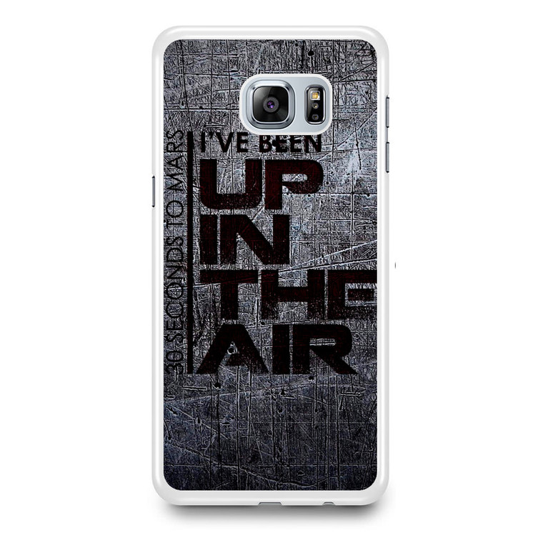30 Seconds To Mars I'Ve Been Up In The Air Samsung Galaxy S6 Edge Plus Case