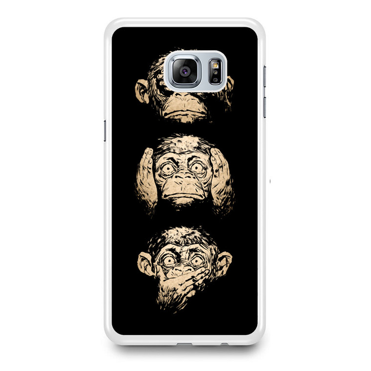 3 Wise Monkey Samsung Galaxy S6 Edge Plus Case