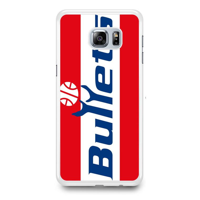Washington Bullets 1987 Logo Samsung Galaxy S6 Edge Plus Case