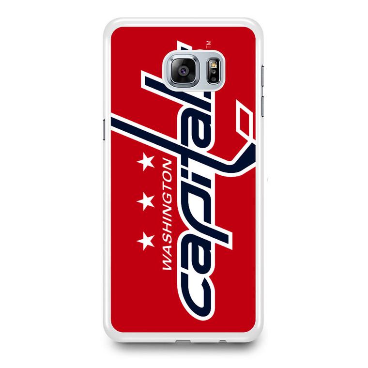 Washington Capitals Hockey Logo Samsung Galaxy S6 Edge Plus Case
