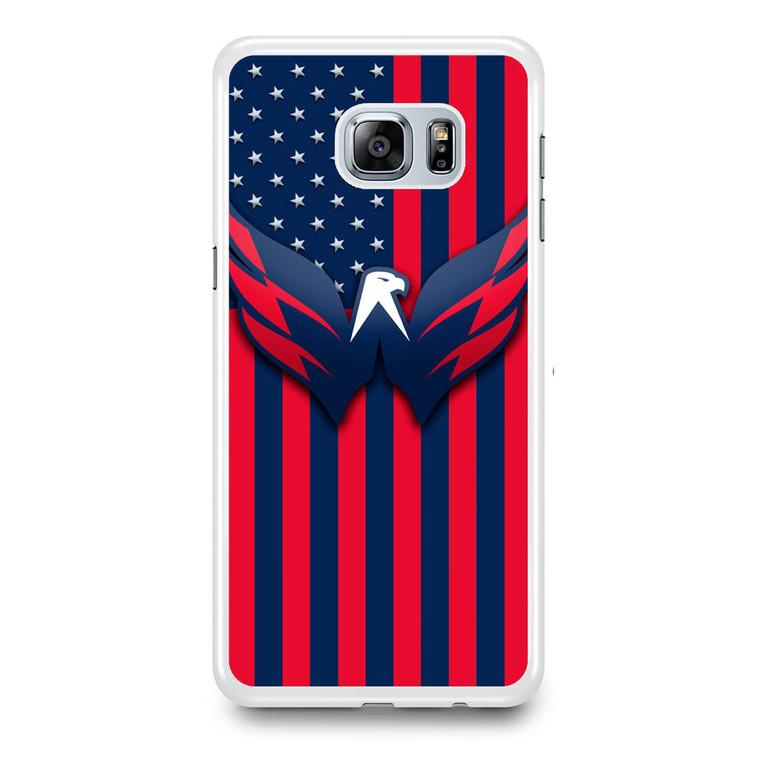 Washington Capitals Hockey Samsung Galaxy S6 Edge Plus Case