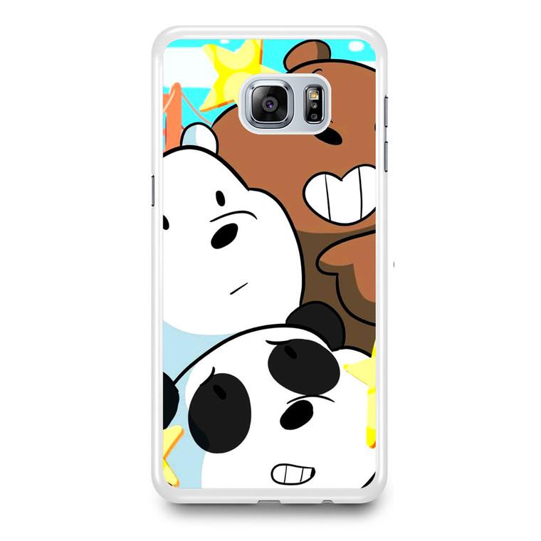 We Bare Bears Bearsstack Samsung Galaxy S6 Edge Plus Case