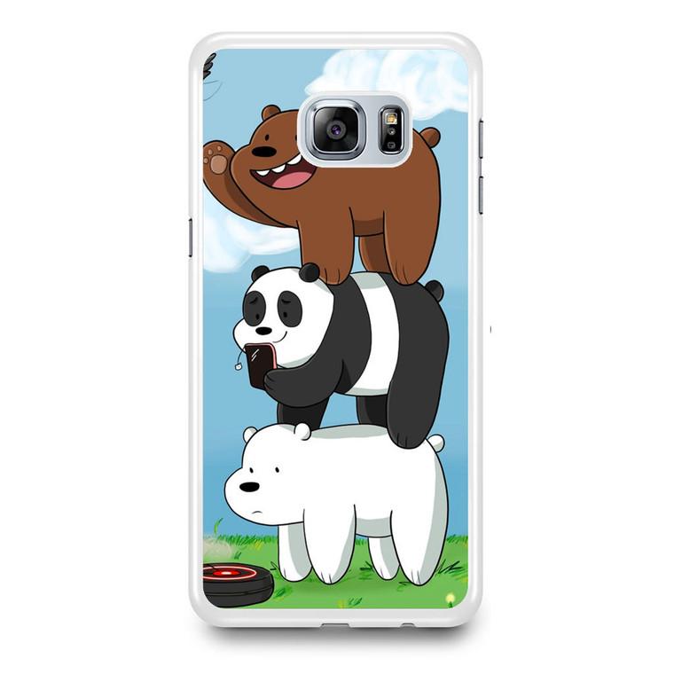 We Bare Bears Grizz Samsung Galaxy S6 Edge Plus Case
