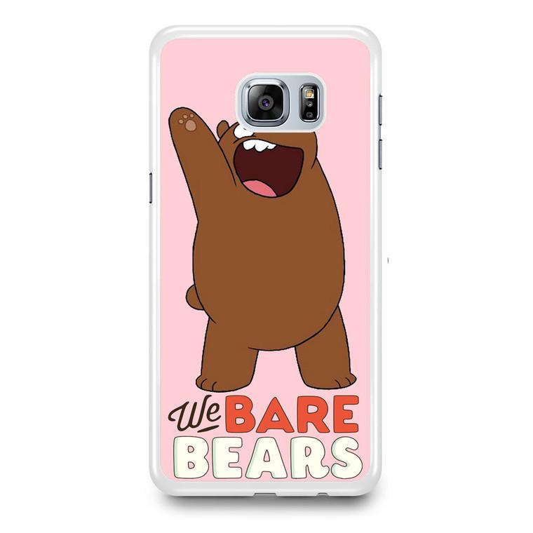 We Bare Bears Samsung Galaxy S6 Edge Plus Case