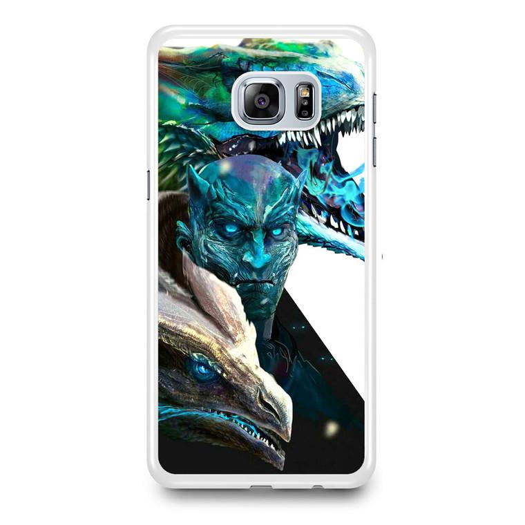 White Walkers Samsung Galaxy S6 Edge Plus Case