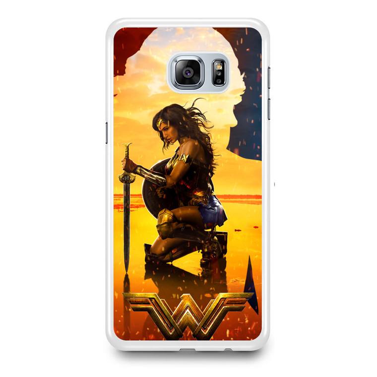 Wonder Woman Artwork Samsung Galaxy S6 Edge Plus Case