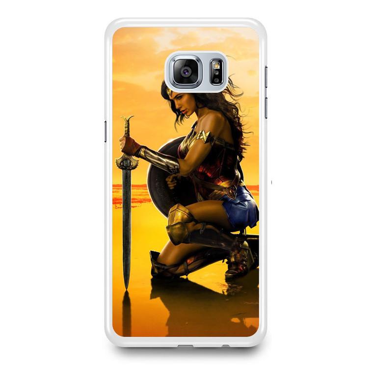Wonder Woman Gal gadot Samsung Galaxy S6 Edge Plus Case