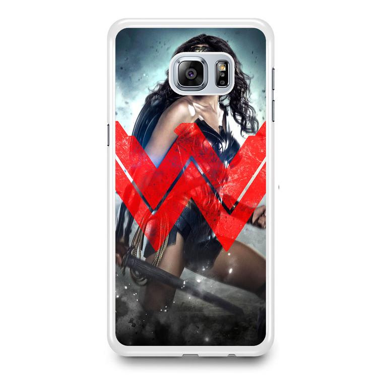 Wonder Woman Logo Dawn Of Justice Samsung Galaxy S6 Edge Plus Case
