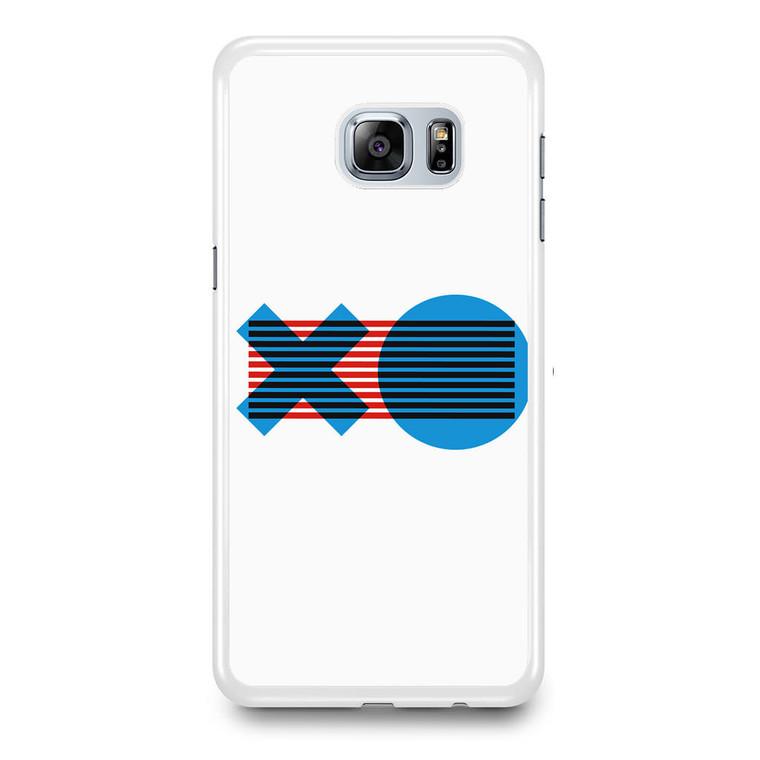 XO Logo Minimal Samsung Galaxy S6 Edge Plus Case