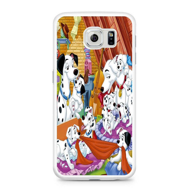 101 Dalmations Family Samsung Galaxy S6 Case