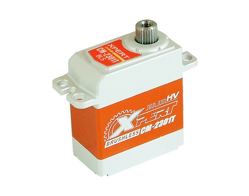 """Xpert RC CM-2301T-HV  450 Class Helicopter Micro Size Full Aluminum """"Super Speed"""" Tail Narrow Band Servo"""