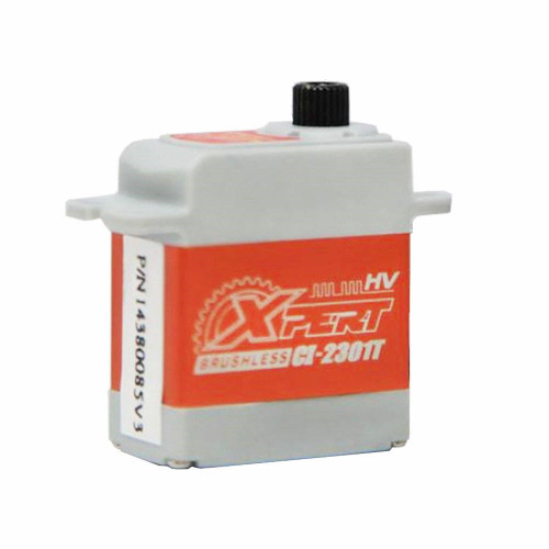 "Xpert RC Micro CI-2301T-HV 450 Class Helicopter Micro Size Aluminum Case 'Super Speed"" Tail Narrow Band Servo"