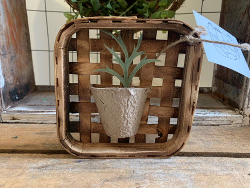 Mini Tobacco Basket