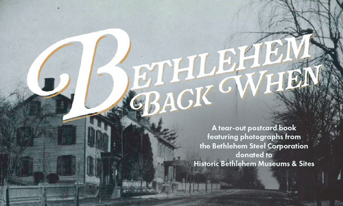 Bethlehem Back When Postcard Book