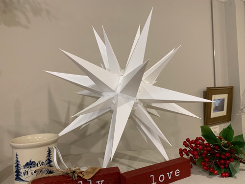 "21"" Illuminated Moravian Star"