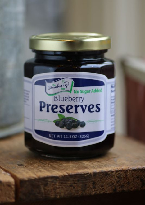 No Sugar Blueberry Preserves