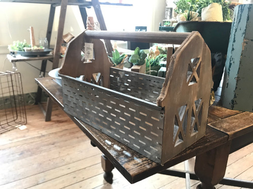 Cool Barn Ends Olive Basket