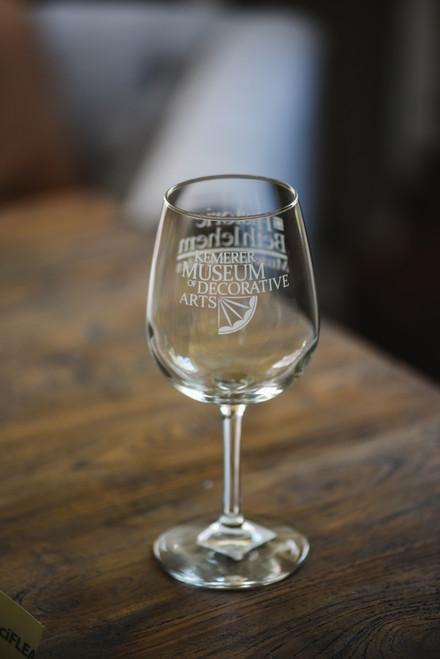Kemerer Museum Wine Glass