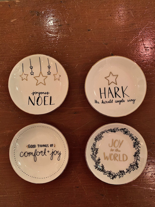 Christmas Carol Dishes