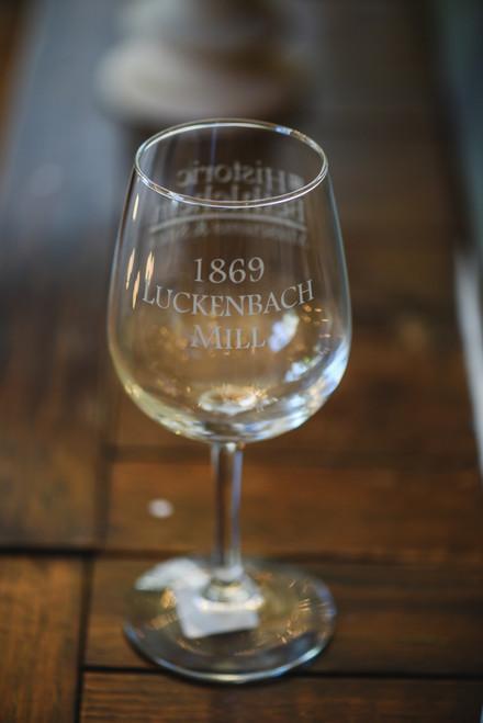 Luckenbach Mill Wine Glass