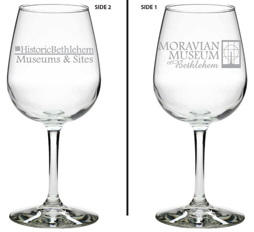 Moravian Museum Wine Glass