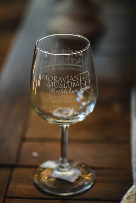 Moravian Museum Wine Glass