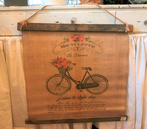 Bicyclette Slat Art