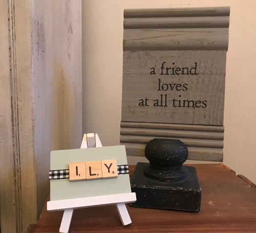 Friend Loves at all Times Sign
